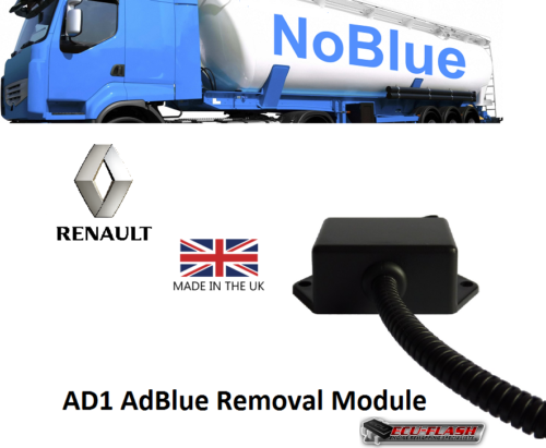 Renault adblue removal module